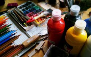 Смешивание красок таблица для детей