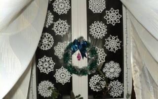 Снежинки на окна трафареты распечатать как вырезать