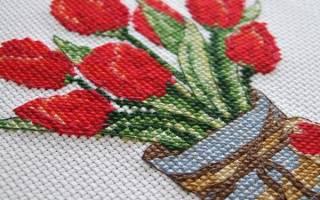 Вышивка на льне схемы