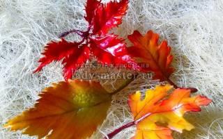 Осенний ободок из фоамирана