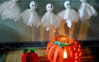 Поделки на тему хэллоуин из бумаги