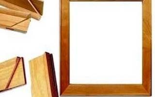 Из чего можно сделать рамку для картины