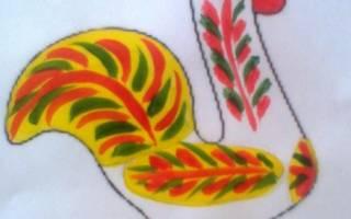 Каргопольская птичка шаблоны для рисования