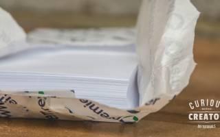 Как сделать блокнот без клея и сшивания
