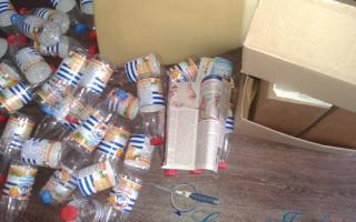 Пуфик из бутылок пластиковых мастер класс
