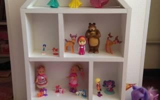 Как сделать домик из картона для кукол