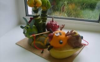 Поделка смешарики из овощей в детский сад