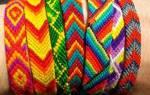 Схемы фенечек прямым плетением для начинающих