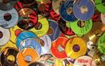 Как использовать старые диски в интерьере