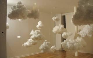 Как сделать облака из синтепона