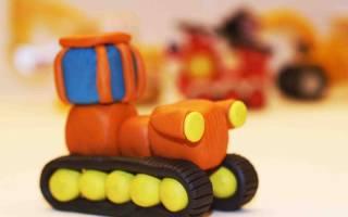 Фигурки из пластилина для детей 9 лет