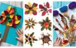Осенние поделки для детского творчества