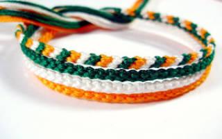 Плетение фенечек из ниток для начинающих