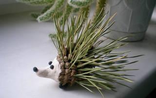 Поделки из природного материала осеннего для дошкольников