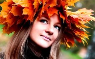 Как плести венок из листьев клена