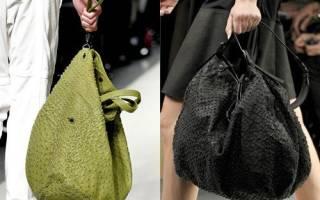 Как сшить сумку мешок