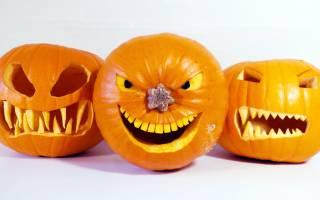 Мастер класс по вырезанию тыквы на хэллоуин