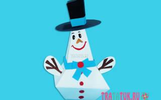 Трафарет снеговик для вырезания из бумаги распечатать