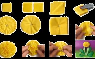 Какую поделку можно сделать из салфеток