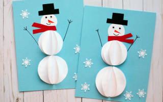 Снеговик аппликация из бумаги шаблоны для вырезания