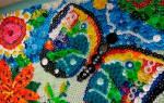 Мозаика из пробок от пластиковых бутылок схемы