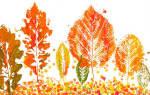 Поделки для детей осень