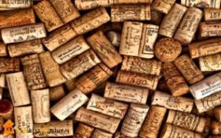 Как сделать коврик из пробок от вина