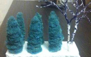 Шаблоны деревьев для макета