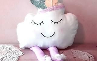 Как сшить подушку облачко