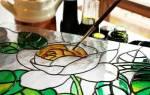 Трафареты для витражей на стекле для начинающих