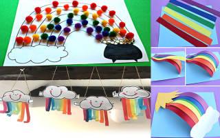 Поделка радуга для детей