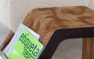 Сделать кресло из картона