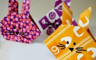 Оригами из прямоугольника схемы