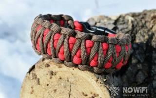Плетение из веревки шпагата паракорда
