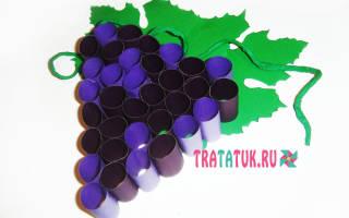 Виноград шаблон для аппликации