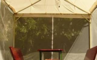 Как сделать шатер