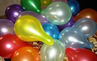 Каким газом надувают воздушные шары