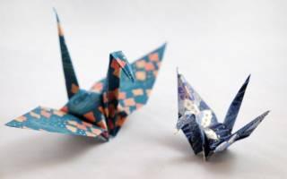 Оригами по этапам