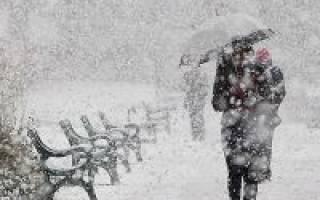 Как вызвать снег в домашних условиях