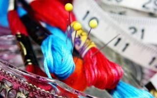 Как пришить атласную ленту к ткани