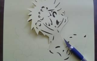 Прикольные трафареты для вырезания из бумаги распечатать