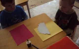 Шаблон кленового листа для вырезания гармошкой