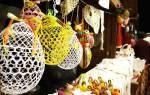 Сделать шары из ниток и клея пошагово