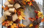Венок на праздник осени