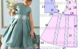 Как сшить платье на малышку