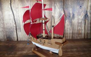 Как сделать поделку кораблик